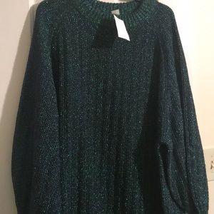 Oversized sweater dress!